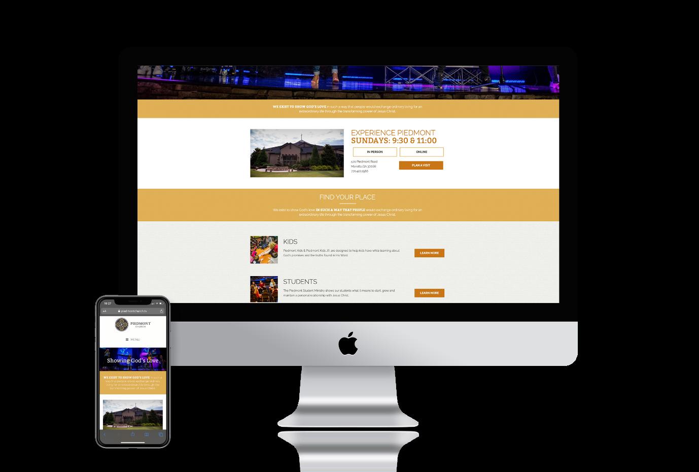 piedmont-website