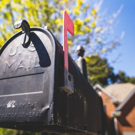 mailbox letters