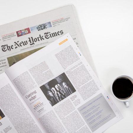 newspaper and magazine