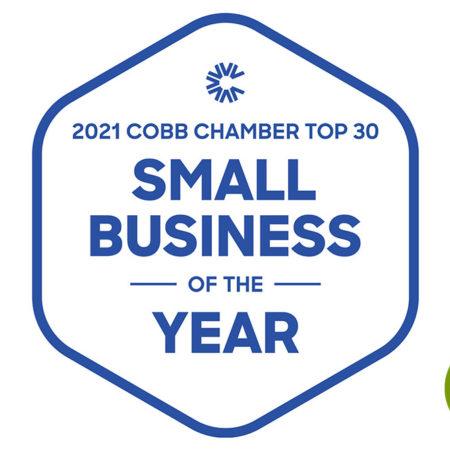 Cobb Chamber Small Business Award 2021